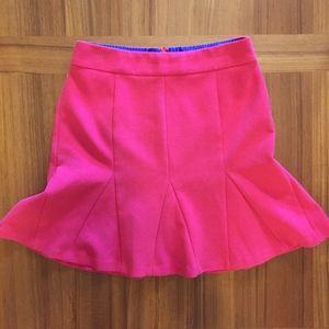 Hot Pink Trumpet Skirt